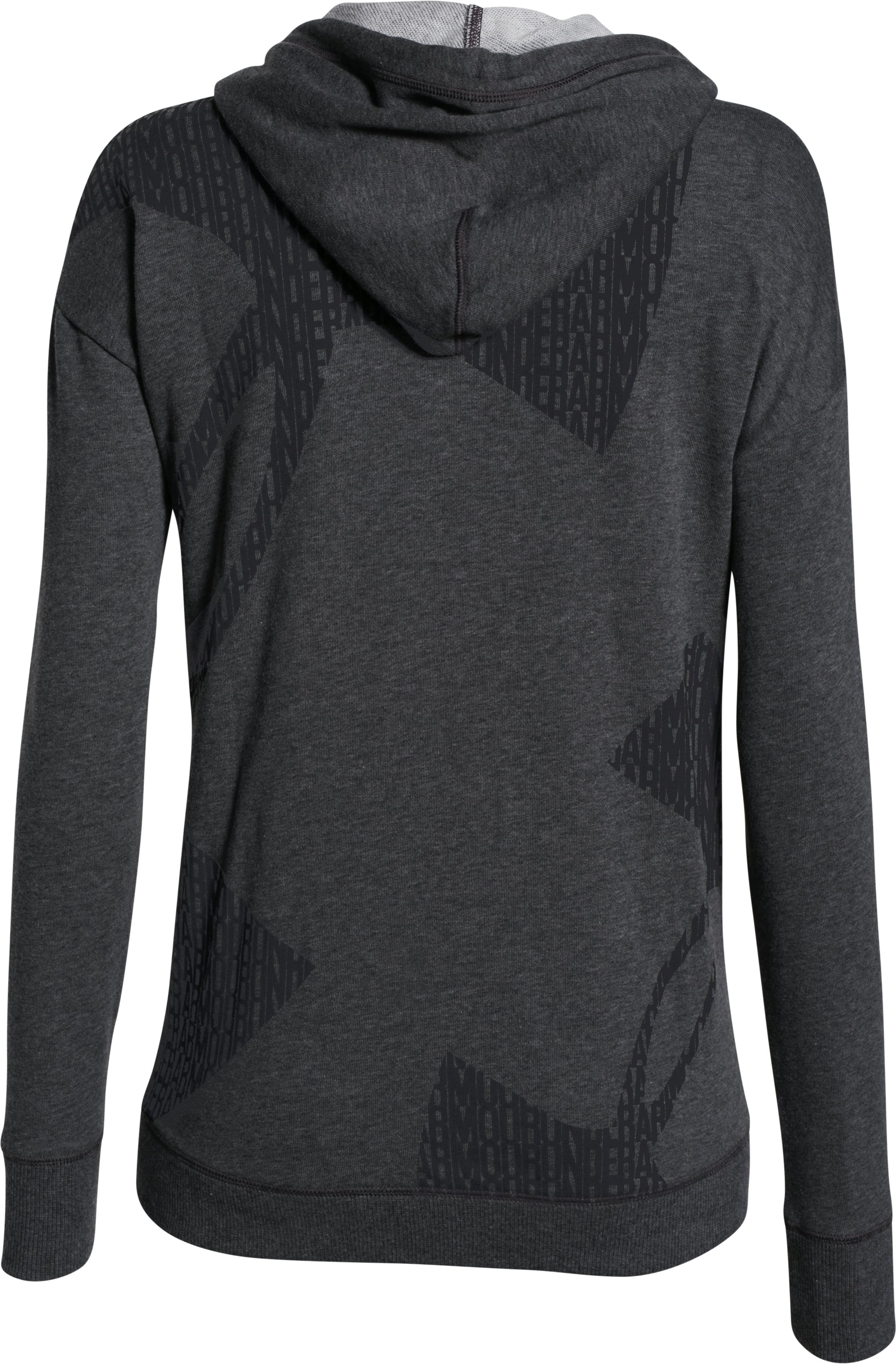 Women's UA Favorite French Terry Full-Zip, Carbon Heather, undefined