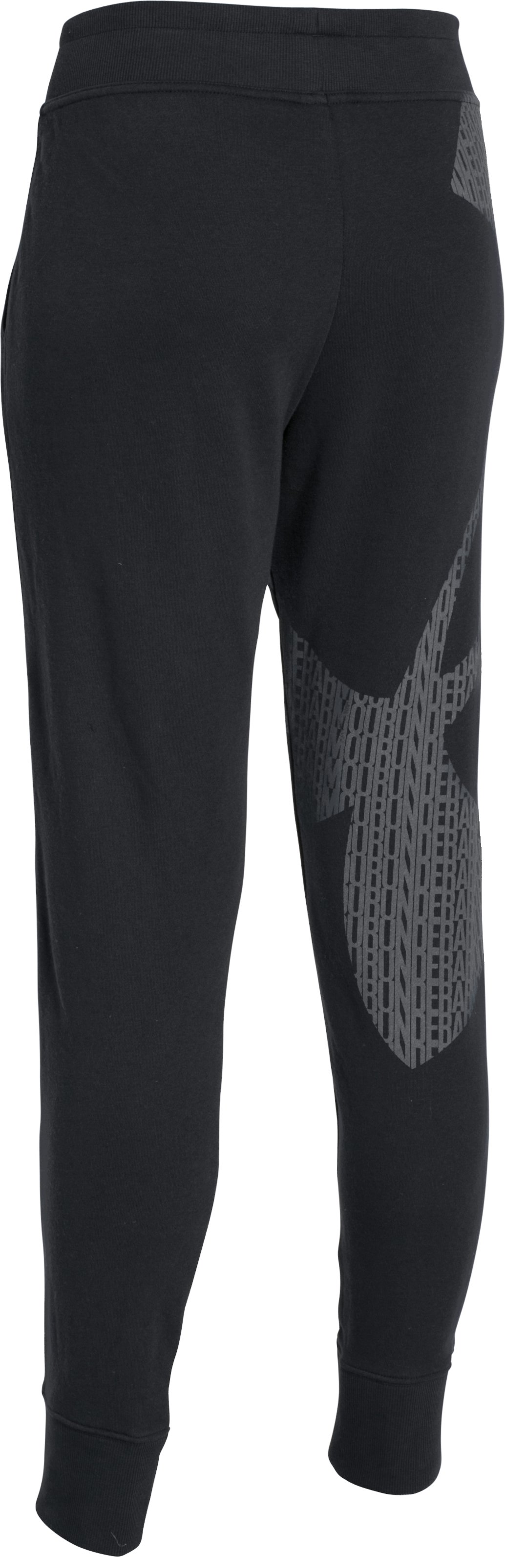 Women's UA Favorite French Terry Joggers, Black ,