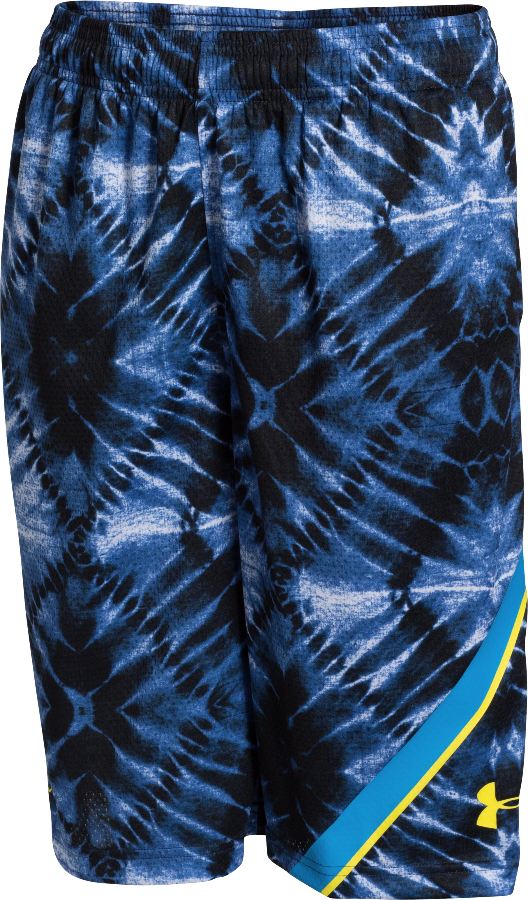 Boys' SC30 Essentials Printed Basketball Shorts, Royal