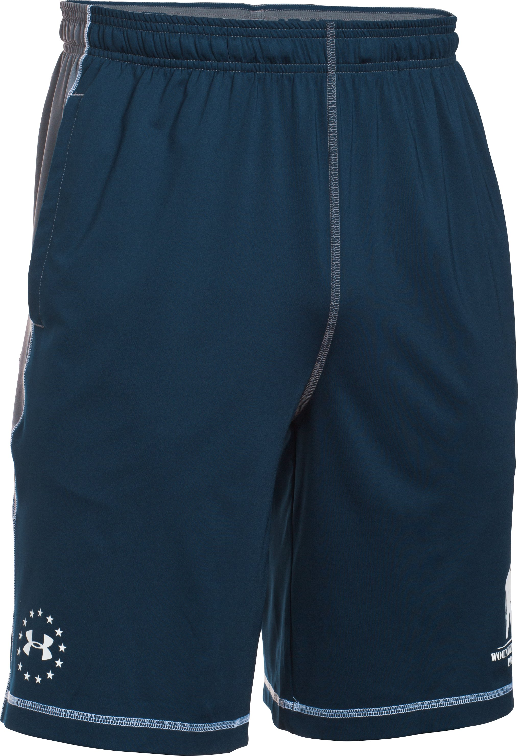 Men's UA WWP Raid Shorts, Academy,