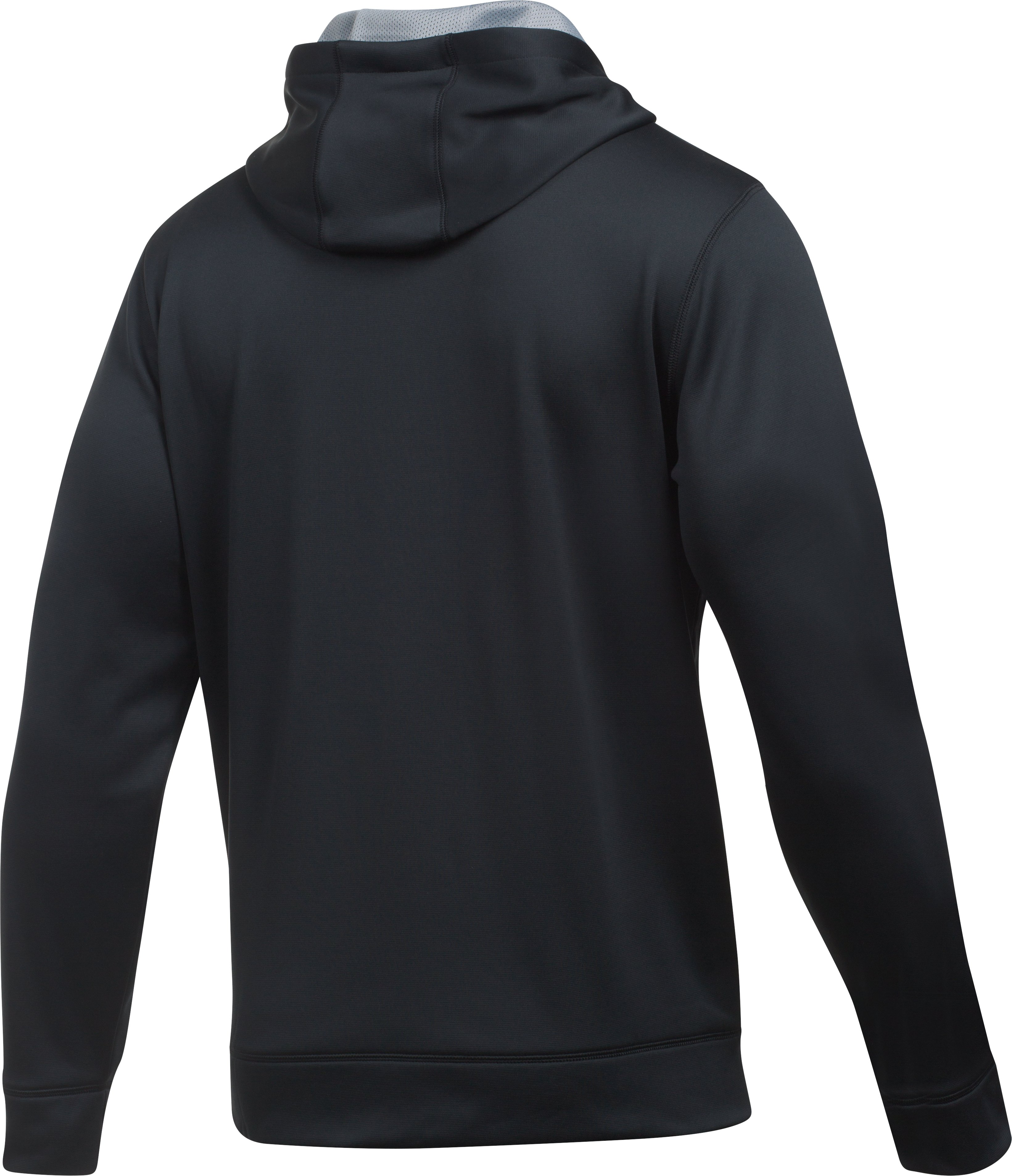 Men's UA Protect Home Ice Hoodie, Black , undefined