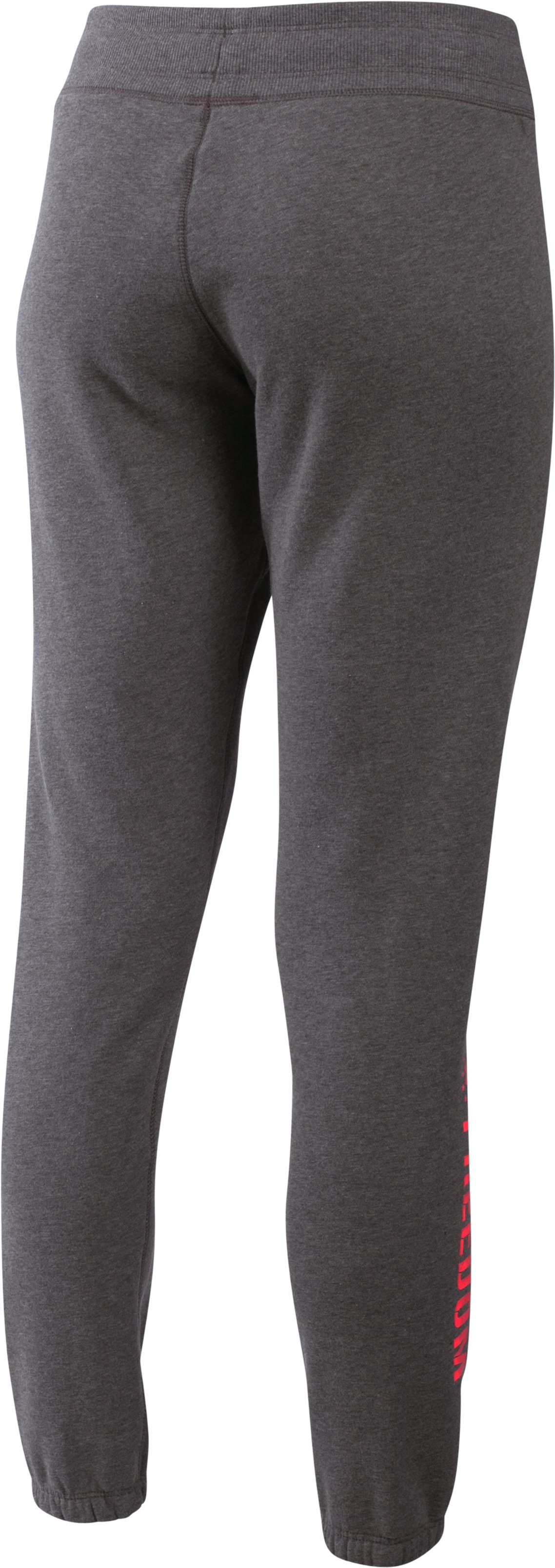 Women's UA Favorite Fleece Freedom Pant, Carbon Heather