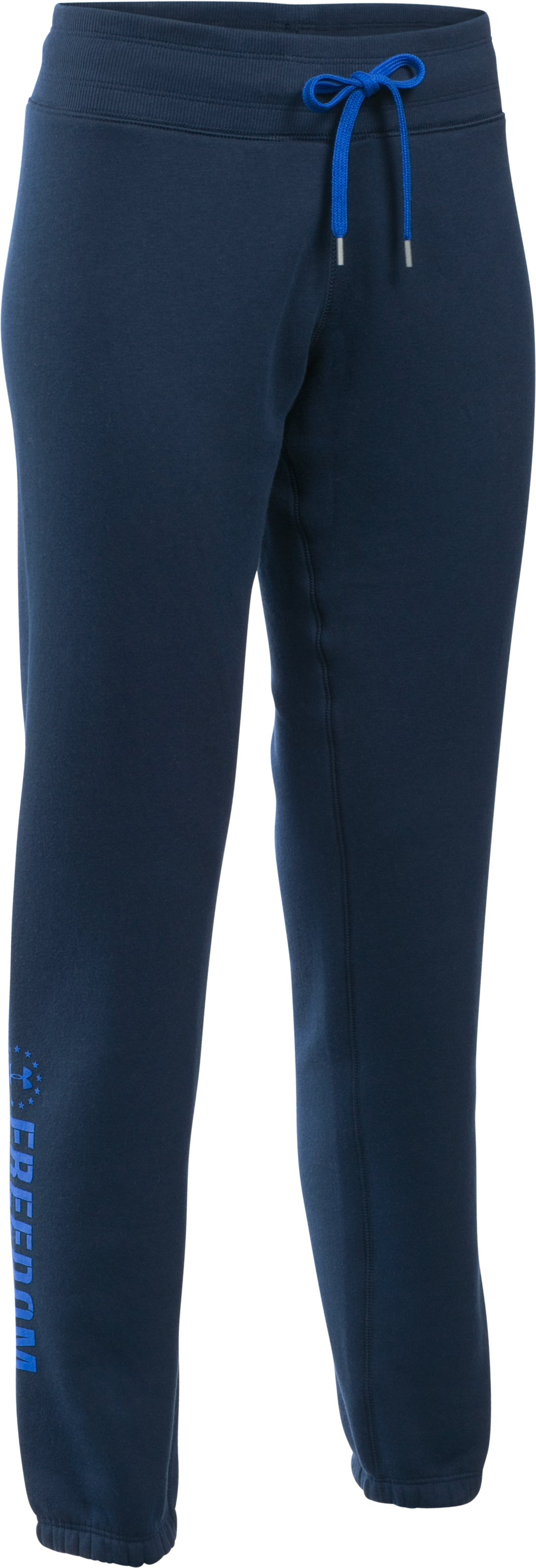 Women's UA Favorite Fleece Freedom Pant, Academy,
