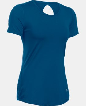 Women's UA HeatGear® CoolSwitch Short Sleeve LIMITED TIME: FREE SHIPPING 1 Color $34.99