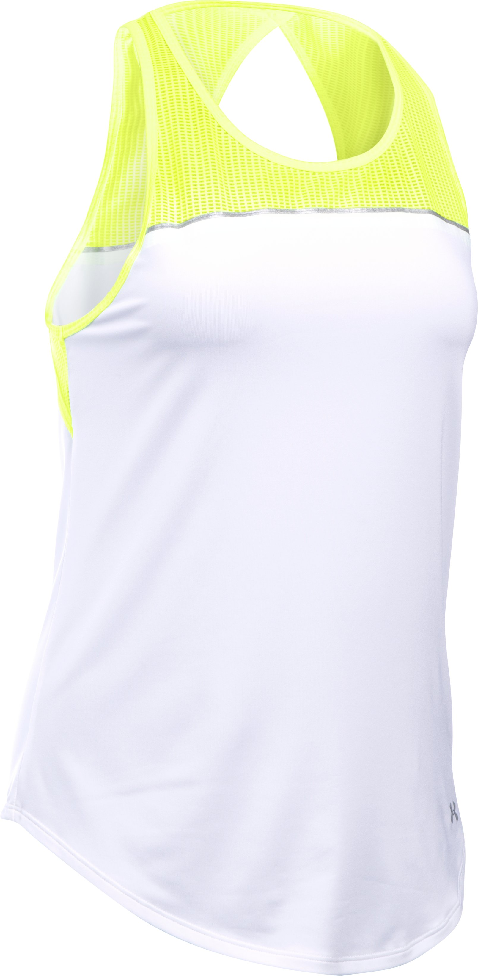 Women's UA Fly-By 2.0 Fitted Tank, X-Ray