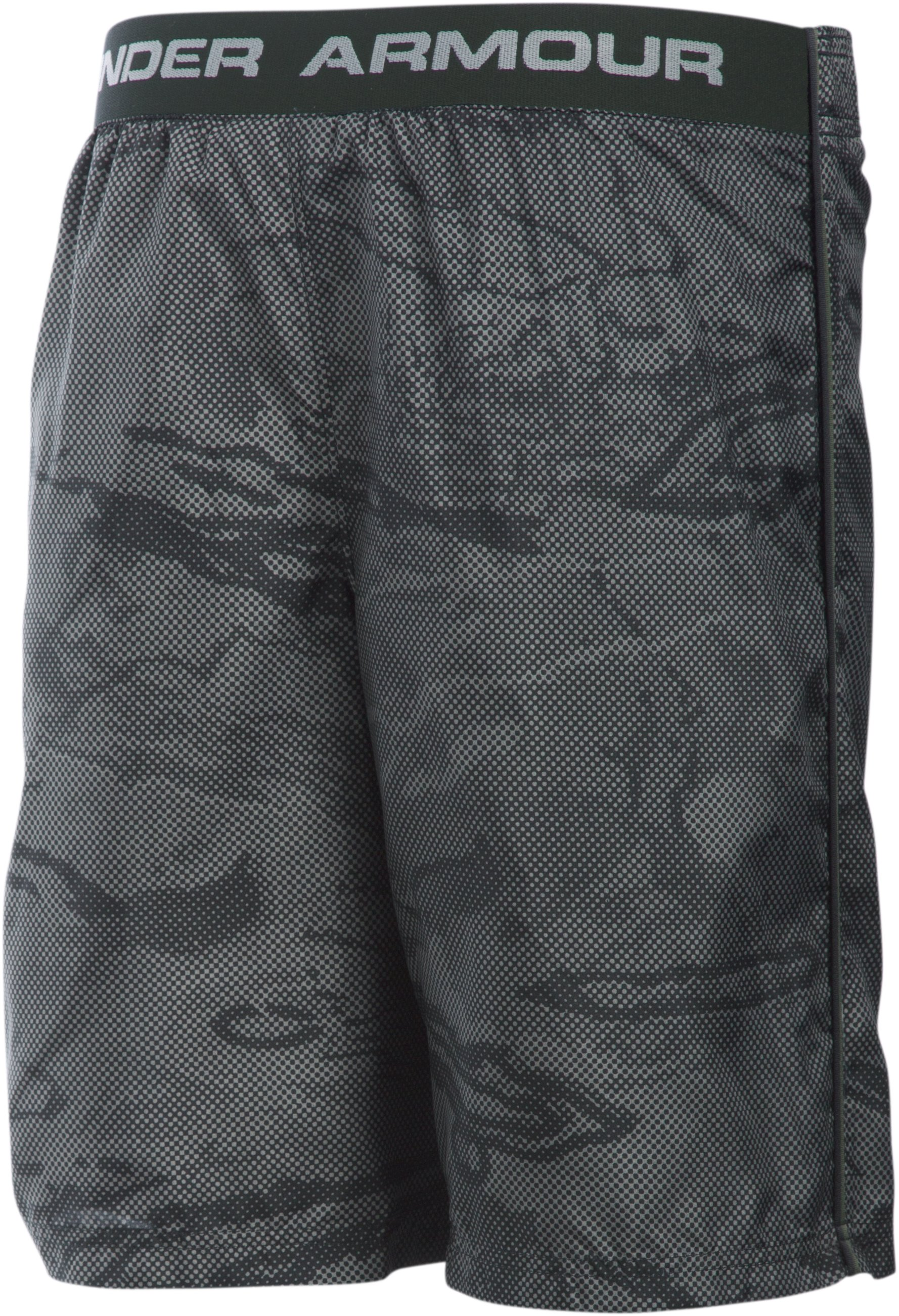 Boys' UA Freedom Edge Shorts, Black ,
