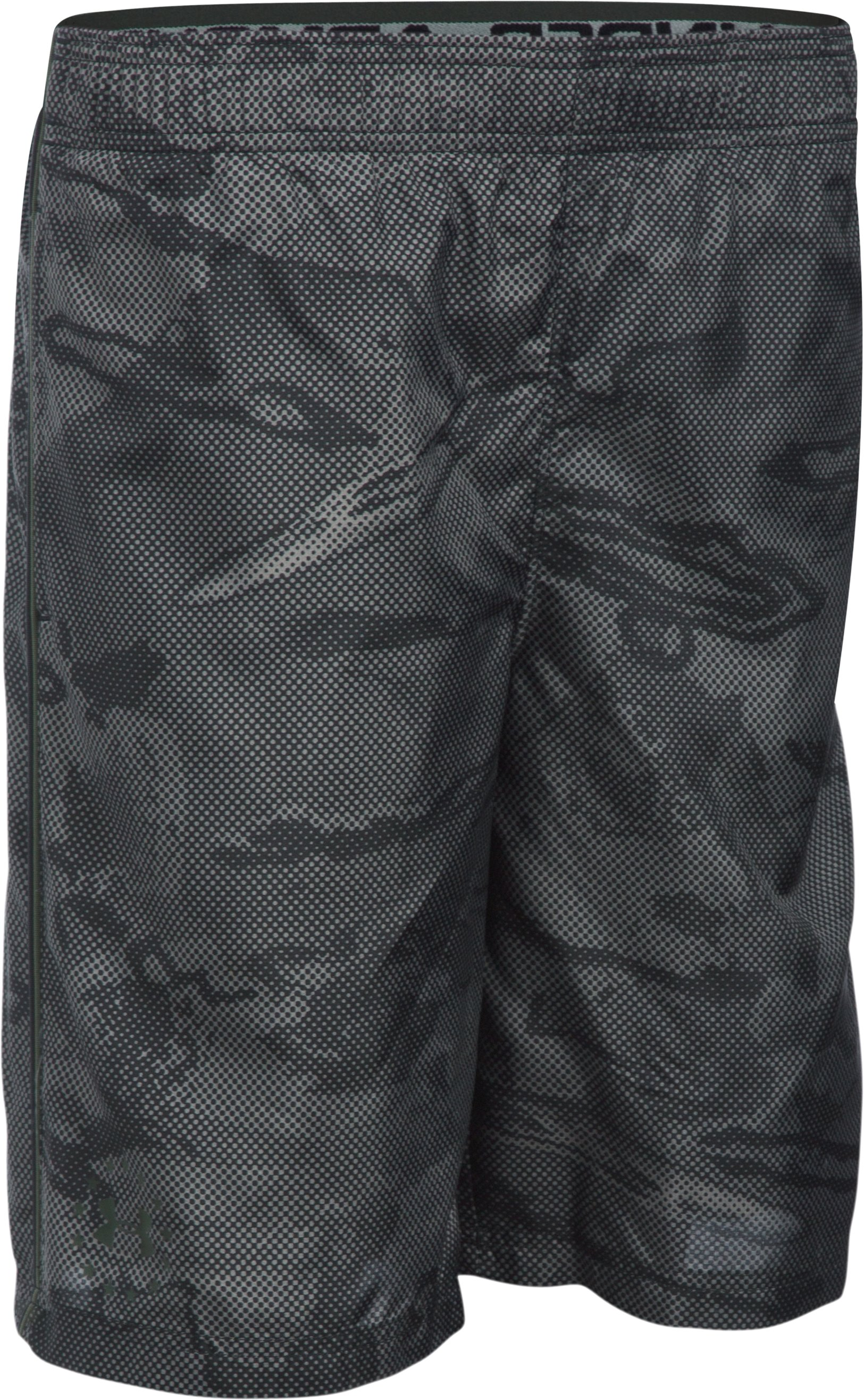 Boys' UA Freedom Edge Shorts, Black