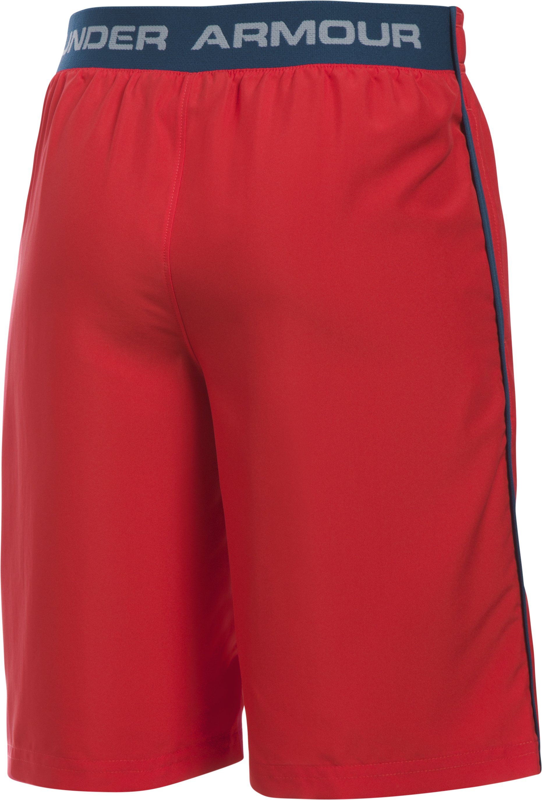 Boys' UA Freedom Edge Shorts, Red,