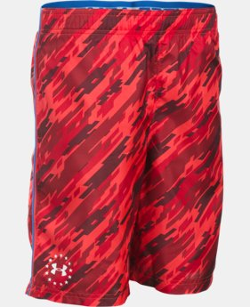Best Seller Boys' UA Freedom Edge Shorts  2 Colors $24.99