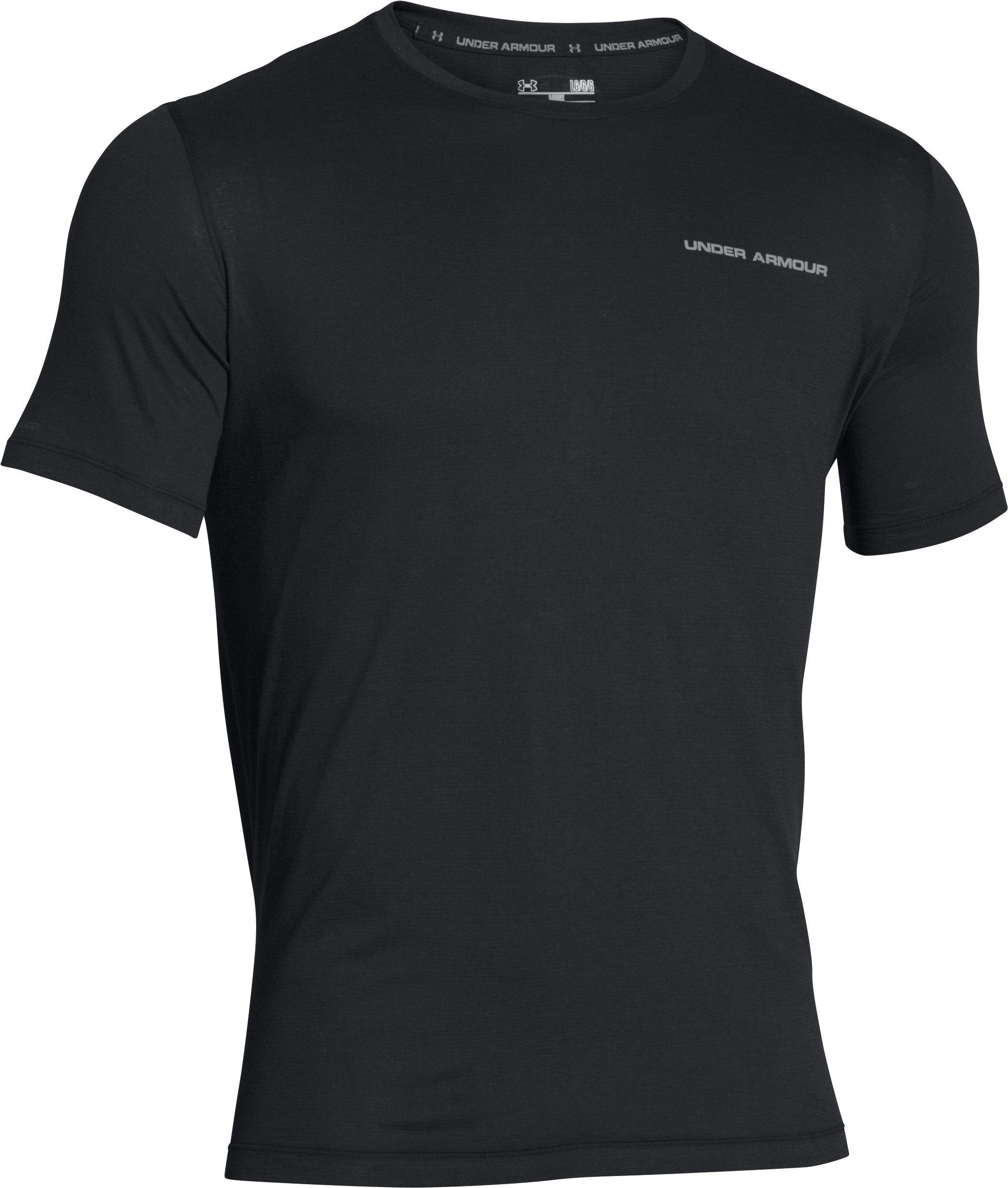 Men's Charged Cotton® T-Shirt, Black , undefined