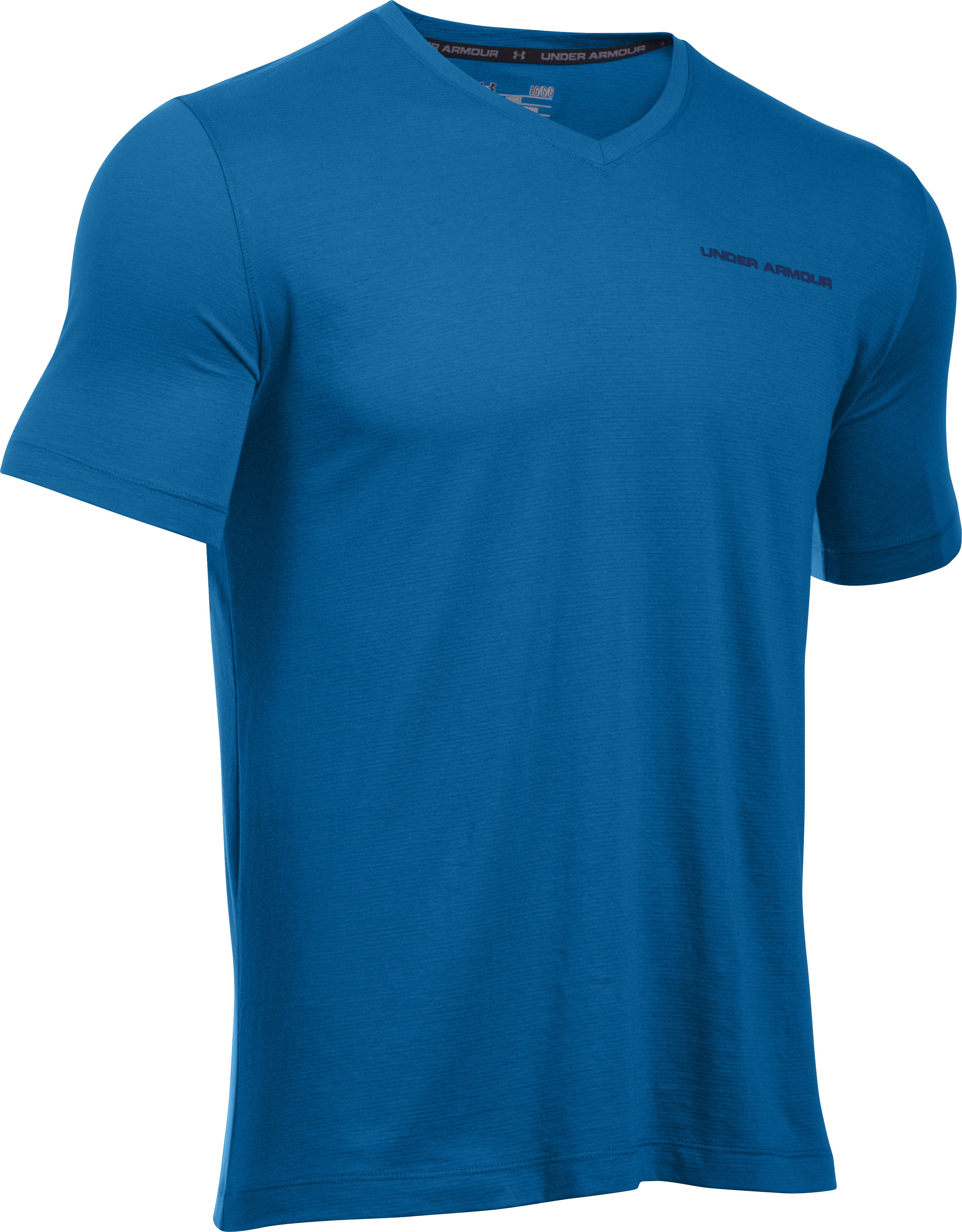 Men's Charged Cotton® V-Neck, Squadron