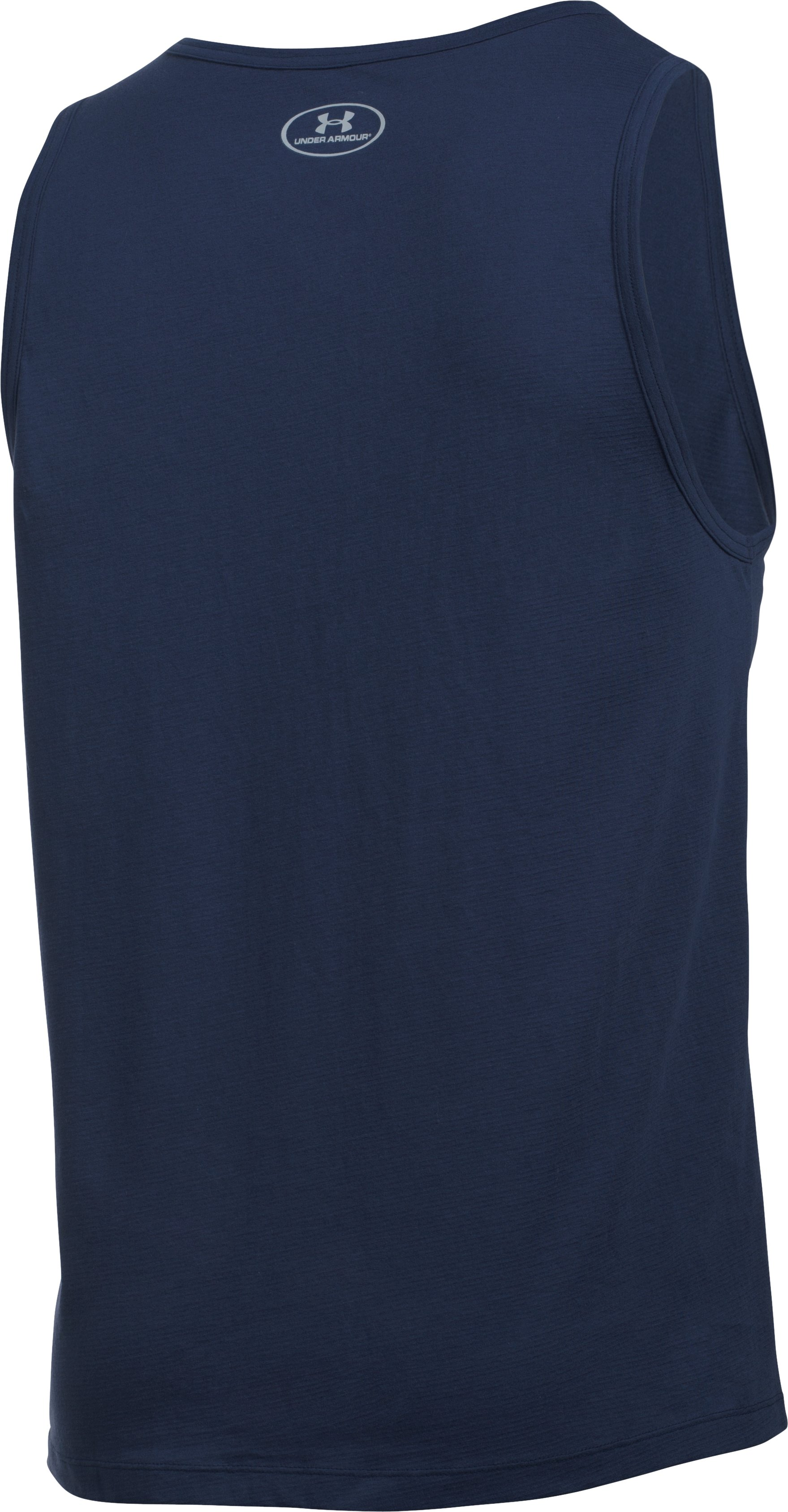 Men's Charged Cotton® Tank, Midnight Navy