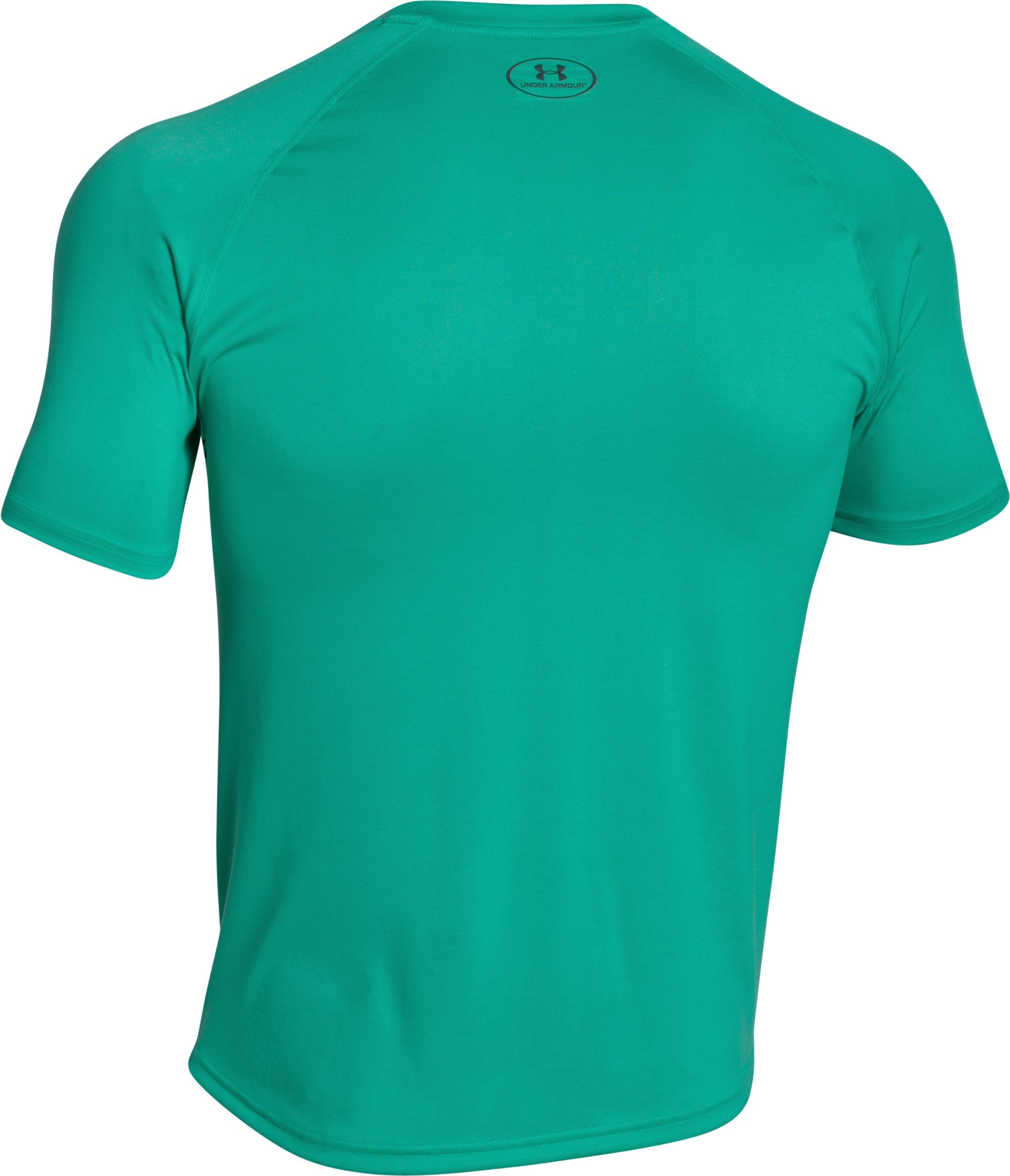 Men's UA Tech™ Graphic T-Shirt, GREEN MALACHITE, undefined