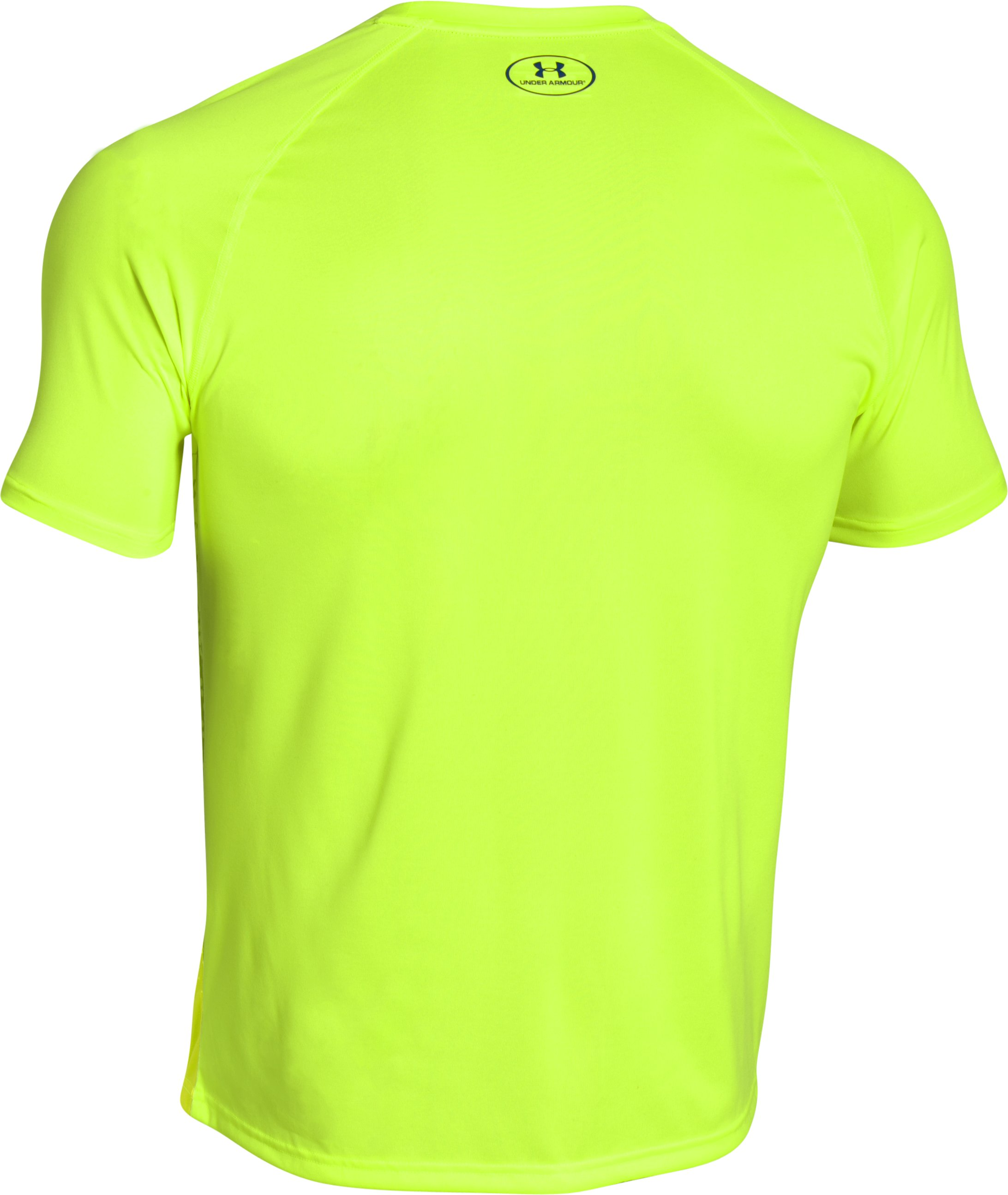 Men's UA Tech™ Graphic T-Shirt, FUEL GREEN, undefined