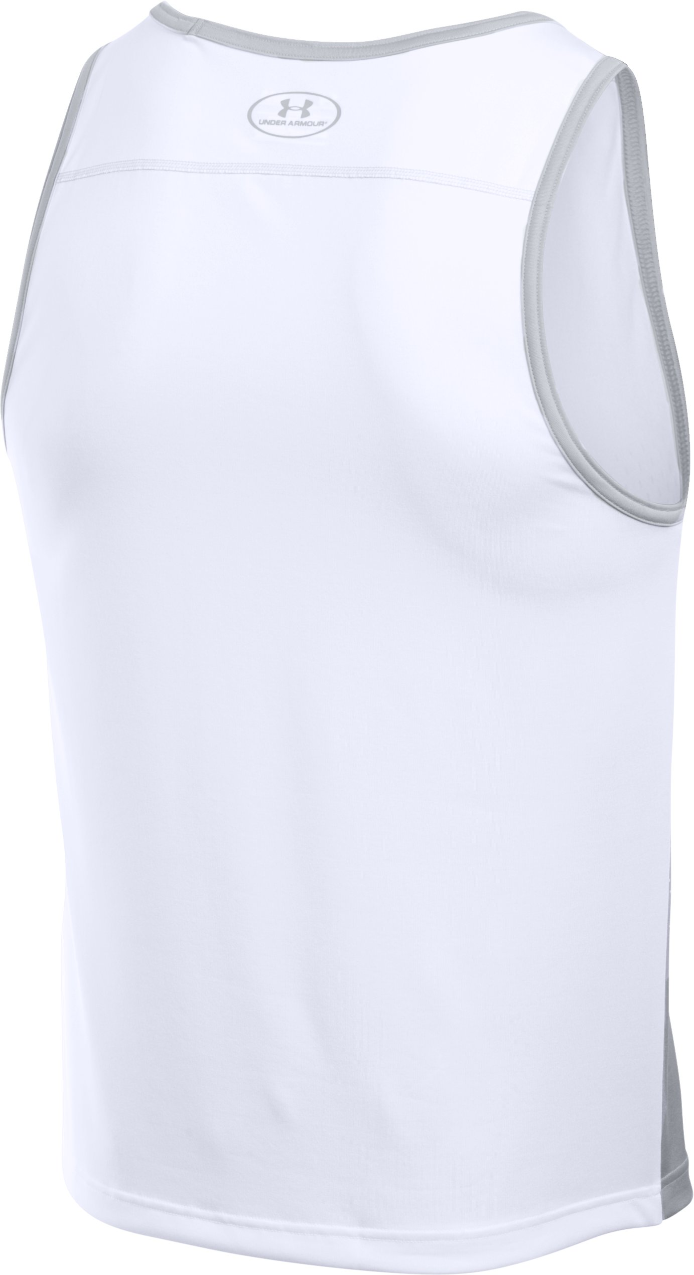 Men's UA Tech™ Printed Tank, White,