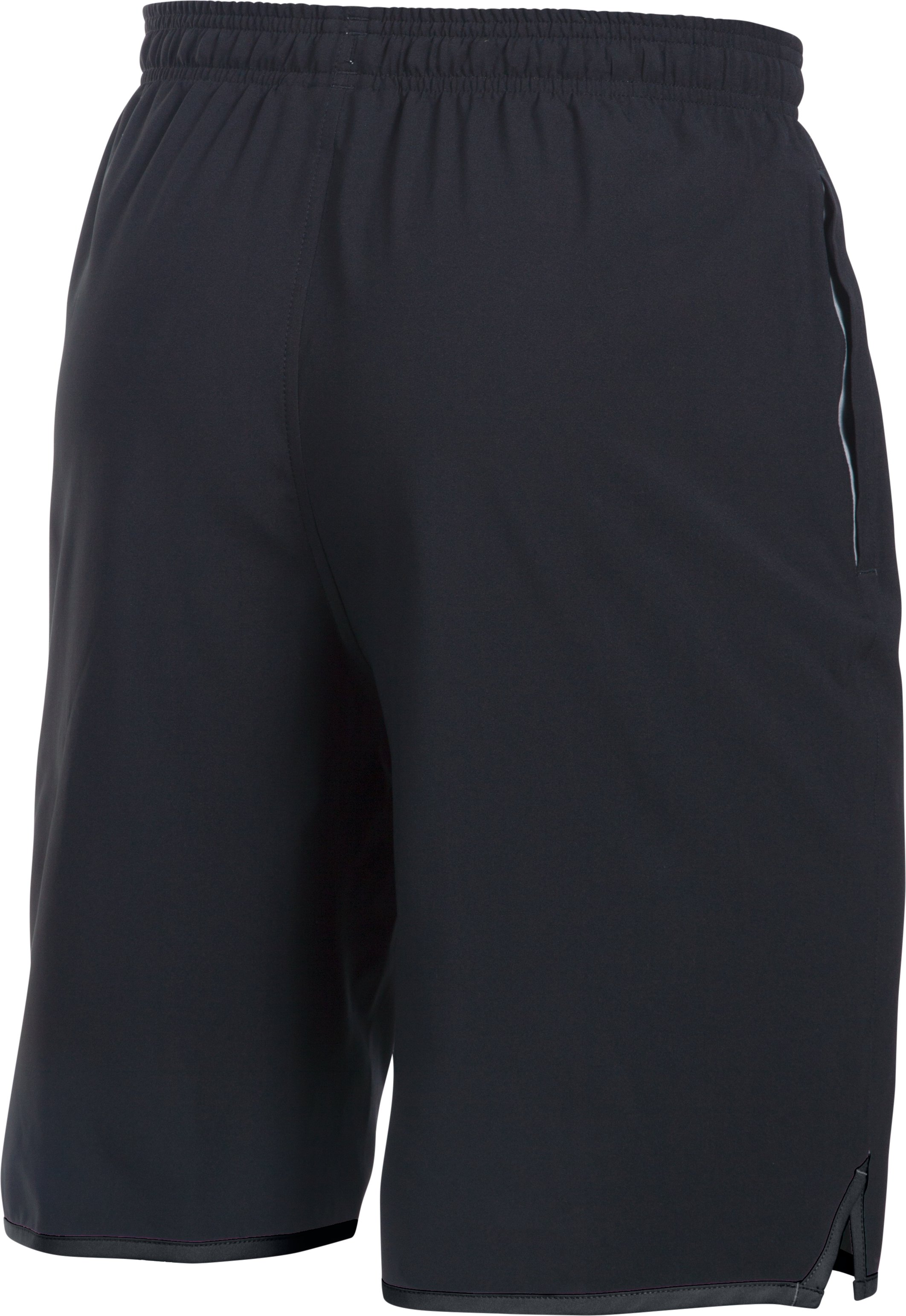 "Men's UA Qualifier 9"" Woven Shorts, Black ,"