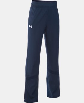 New Arrival Girls' UA Pregame Woven Warm-Up Pants  1 Color $44.99