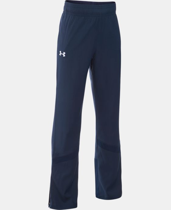Girls' UA Pregame Woven Warm-Up Pants LIMITED TIME: FREE U.S. SHIPPING 1 Color $44.99