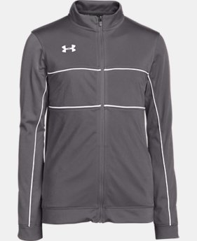 Boys' UA Rival Knit Warm Up Jacket  1 Color $49.99