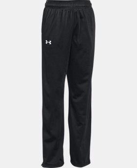 Boys' UA Rival Knit Warm-Up Pants  5  Colors Available $39.99