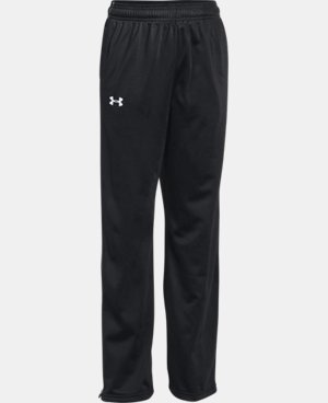 Boys' UA Rival Knit Warm Up Pants  1 Color $39.99