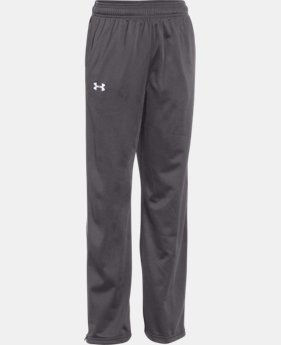 New Arrival  Boys' UA Rival Knit Warm Up Pants  1 Color $44.99