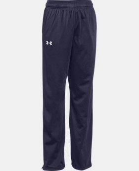 Boys' UA Rival Knit Warm Up Pants  2  Colors Available $39.99