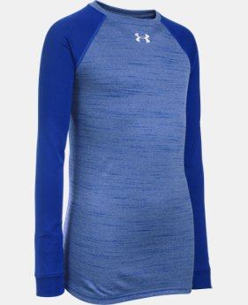 Boys' UA Novelty Locker Long Sleeve LIMITED TIME: FREE U.S. SHIPPING 1 Color $22.99