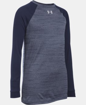 Boys' UA Novelty Locker Long Sleeve LIMITED TIME: FREE U.S. SHIPPING 1 Color $29.99