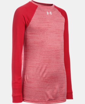 Boys' UA Novelty Locker Long Sleeve LIMITED TIME: FREE SHIPPING 1 Color $29.99
