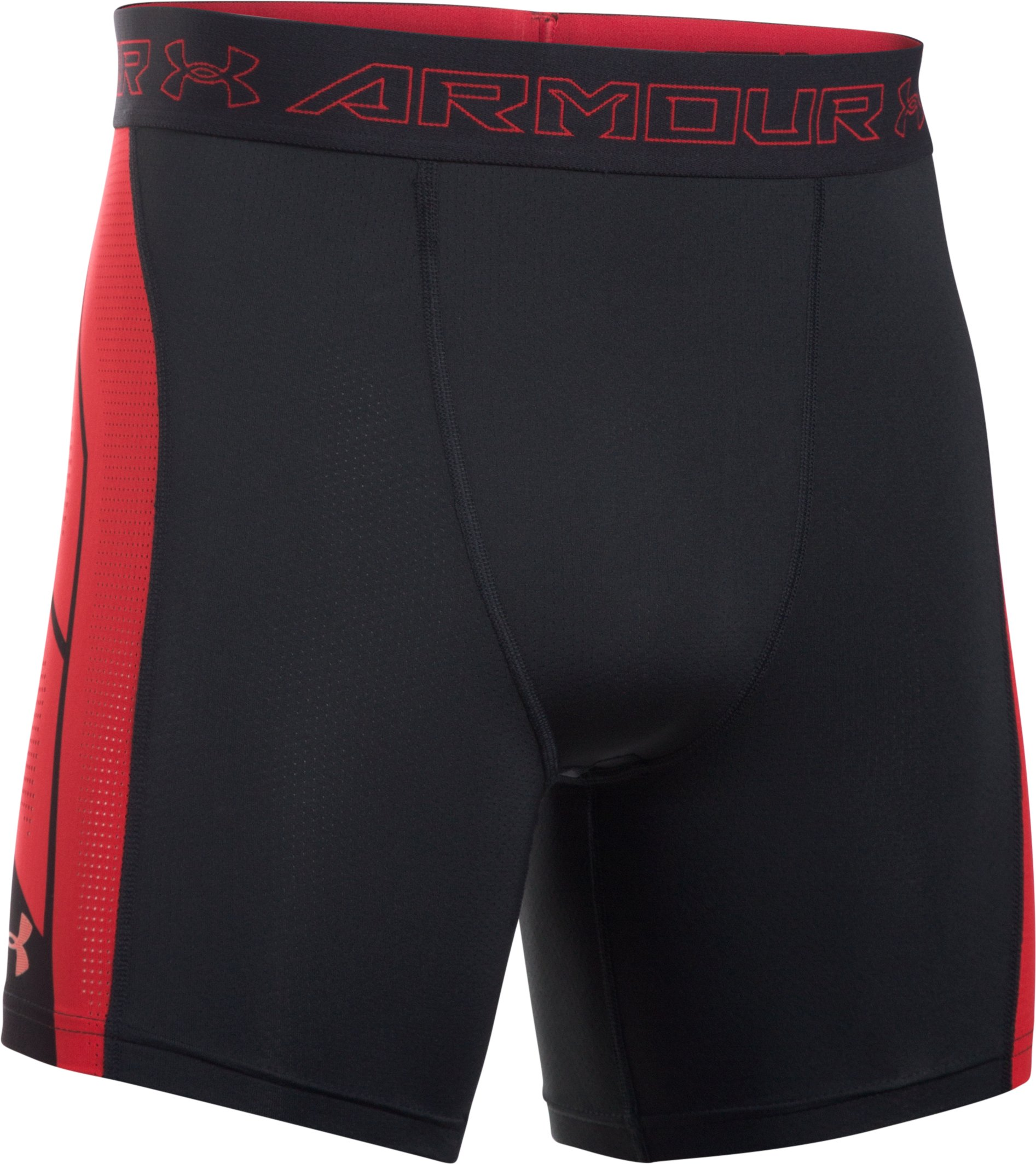 Men's UA HeatGear® Armour CoolSwitch SuperVent Shorts, Black , undefined