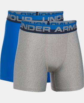 Boys' UA Original Series Boxerjock® 2-Pack  6 Colors $29.99