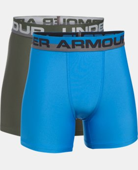 New Arrival Boys' UA Original Series Boxerjock® 2-Pack  3 Colors $18.99 to $25