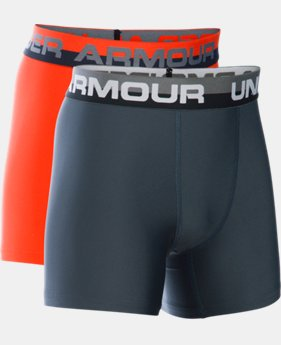 Boys' UA Original Series Boxerjock® 2-Pack LIMITED TIME: FREE SHIPPING 3 Colors $29.99