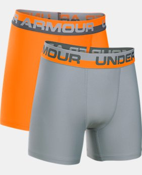 Boys' UA Original Series Boxerjock® – 2-Pack  1  Color Available $20.99 to $22.99