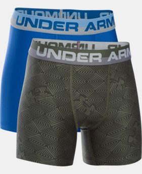New Arrival Boys' UA Original Series Boxerjock® Novelty 2-Pack   $25