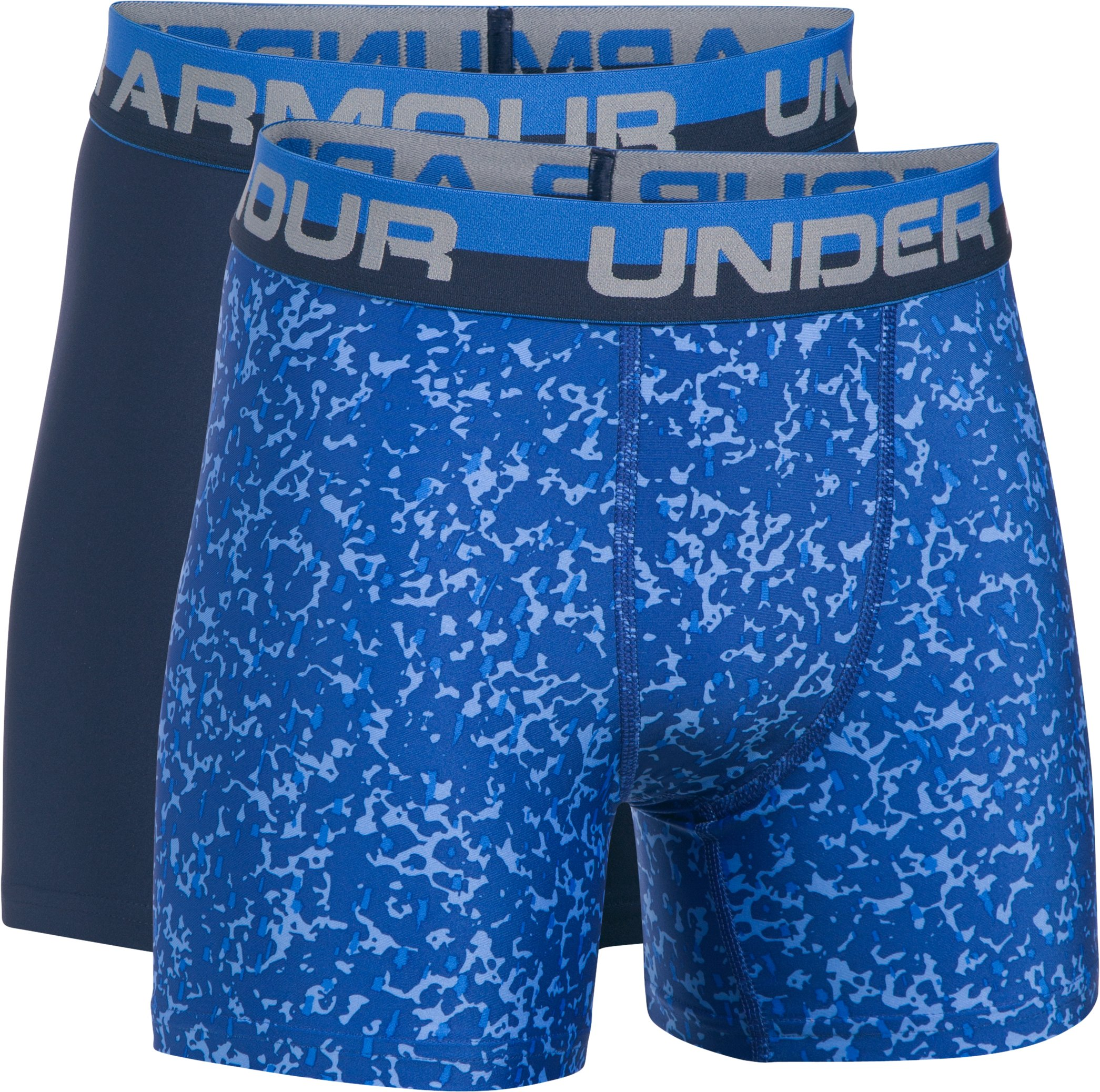 Boys' UA Original Series Boxerjock® Novelty 2-Pack, Midnight Navy, zoomed image