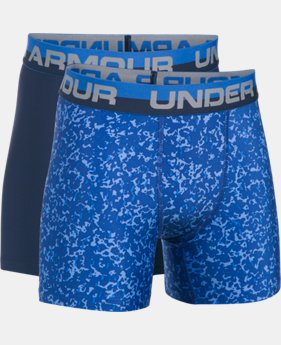 New Arrival Boys' UA Original Series Boxerjock® Novelty 2-Pack  6 Colors $25