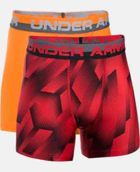 Boys' UA Original Series Boxerjock® Novelty 2-Pack  1 Color $22.99 to $29.99
