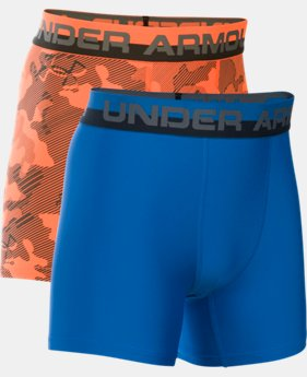 Best Seller Boys' UA Original Series Boxerjock® Novelty 2-Pack  2 Colors $25