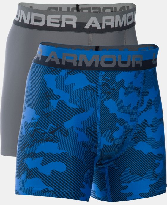 Boys' UA Original Series Boxerjock® Novelty 2-Pack  1 Color $25