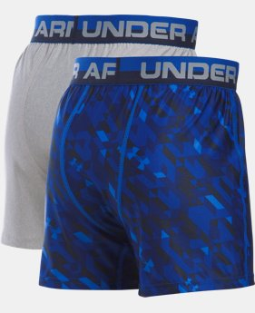 Best Seller Boys' UA Original Series Boxer Shorts 2-Pack  4 Colors $25