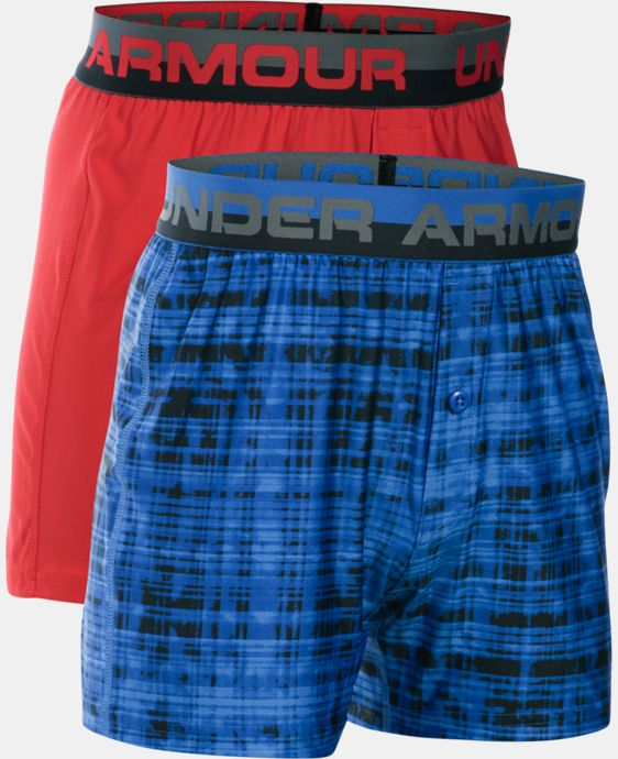 Boys' UA Original Series Boxer Shorts 2-Pack  1 Color $29.99