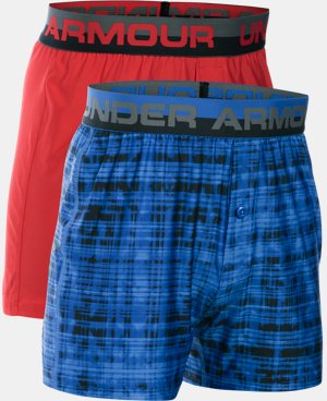 Boys' UA Original Series Boxer Shorts 2-Pack LIMITED TIME: FREE SHIPPING 1 Color $22.99 to $29.99