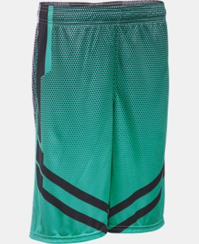 New Arrival Boys' UA Drop Step Basketball Shorts LIMITED TIME: FREE SHIPPING  $39.99