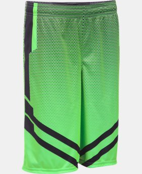 Boys' UA Drop Step Basketball Shorts LIMITED TIME: FREE SHIPPING 1 Color $22.49