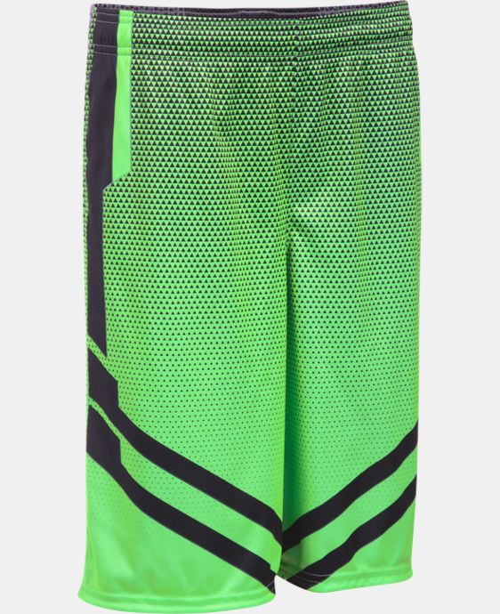 Boys' UA Drop Step Basketball Shorts LIMITED TIME: FREE SHIPPING 1 Color $29.99