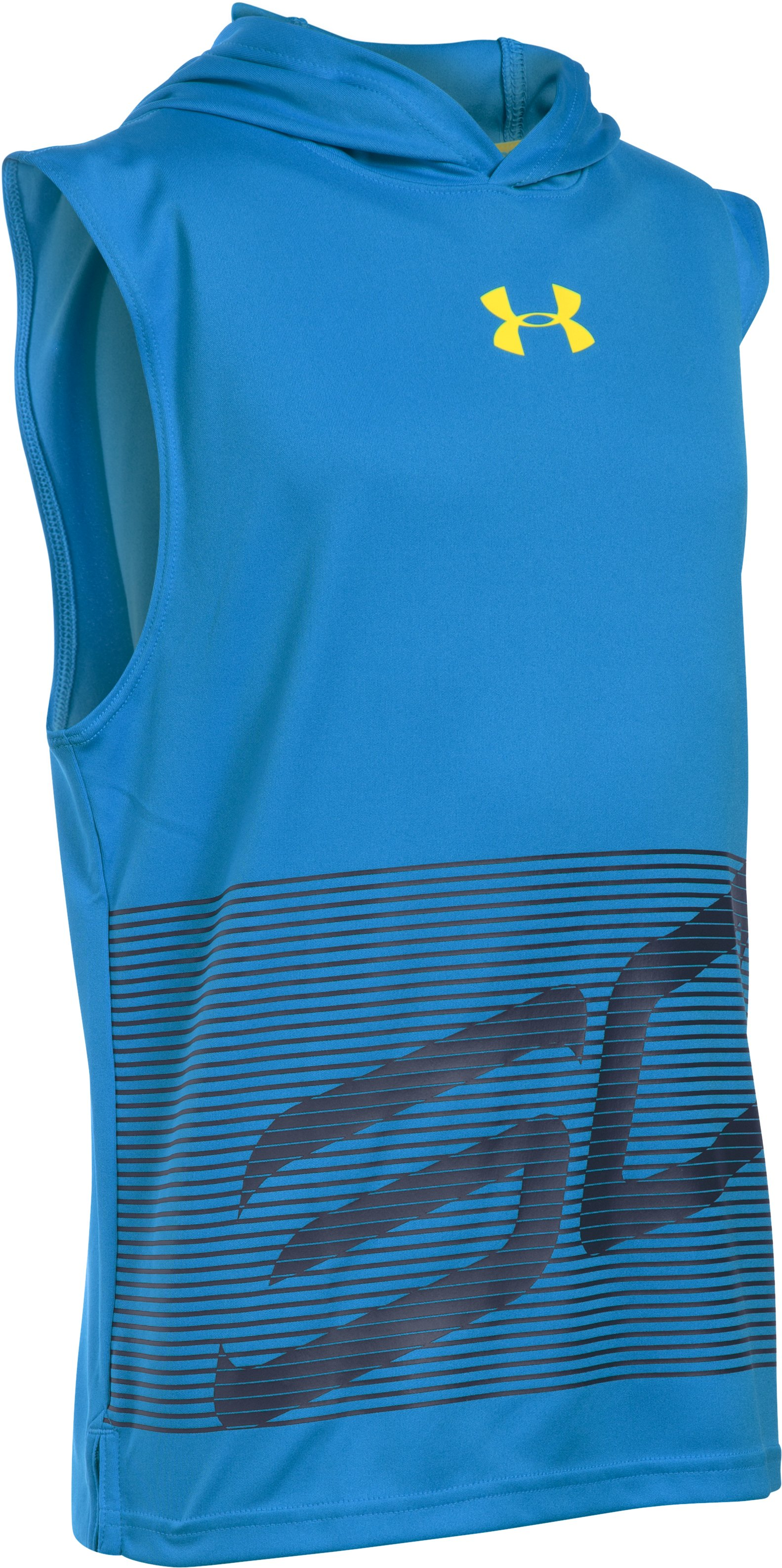 Boys' SC30 Hooded Sleeveless Shirt, ELECTRIC BLUE, undefined