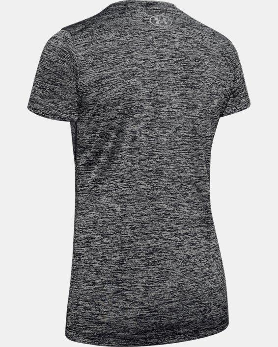 T-shirt UA Tech™ Twist pour femme, Black, pdpMainDesktop image number 7