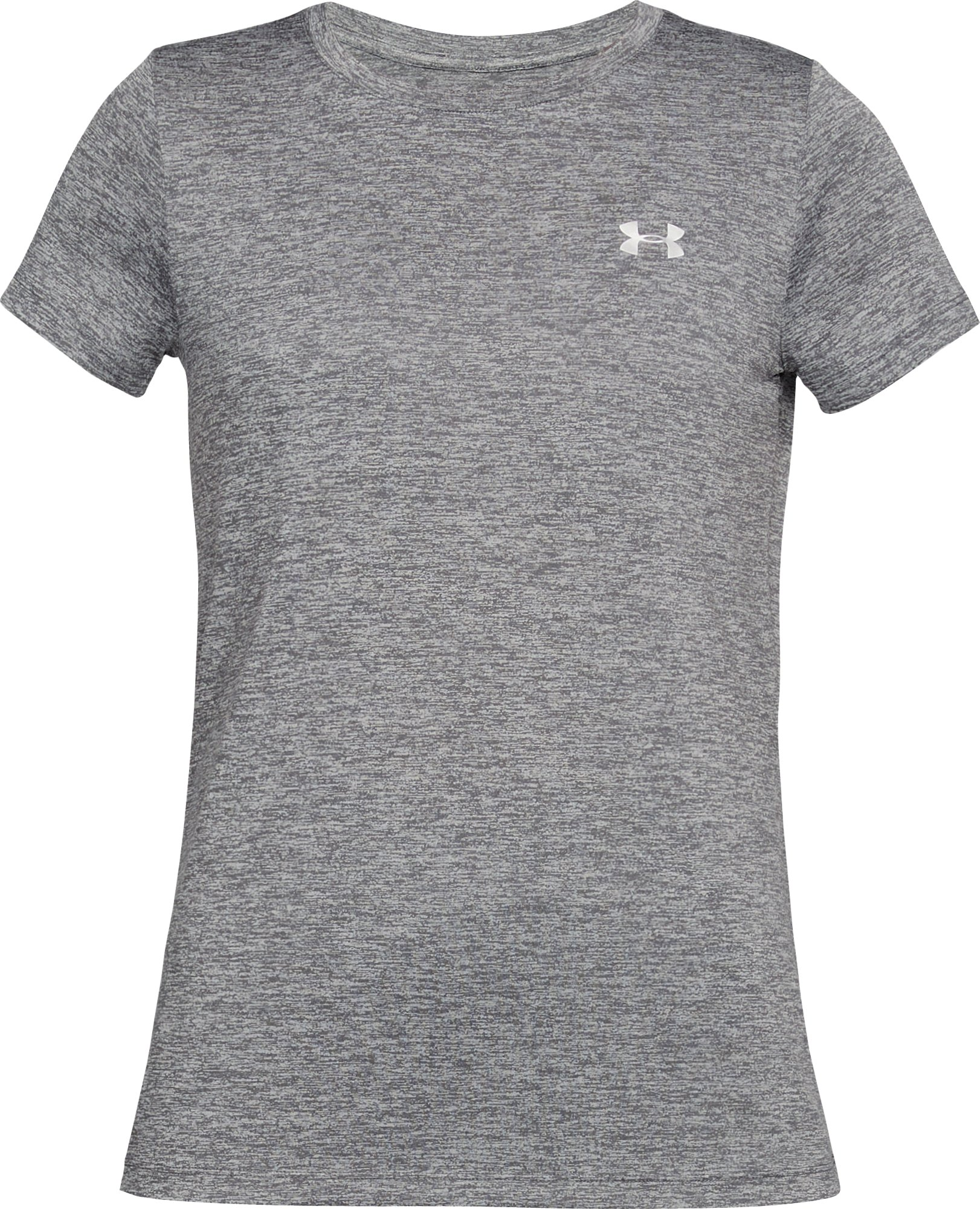 Women's UA Tech™ Twist T-Shirt, Graphite,